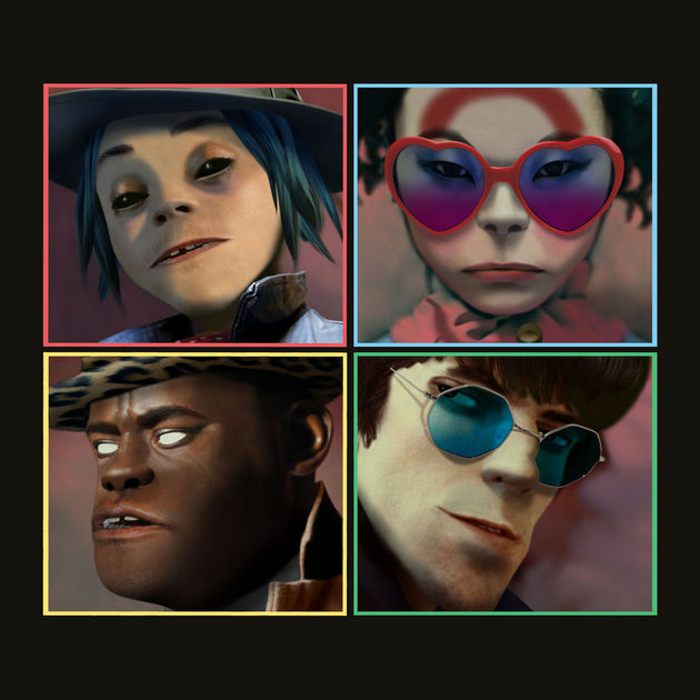 Gorillaz - Humanz(2017)5th